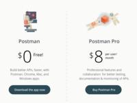 Postman App Site Redesign