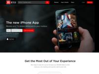 Netflix - DVD Landing Page