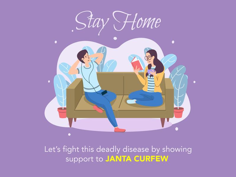 Stay Home dailyui