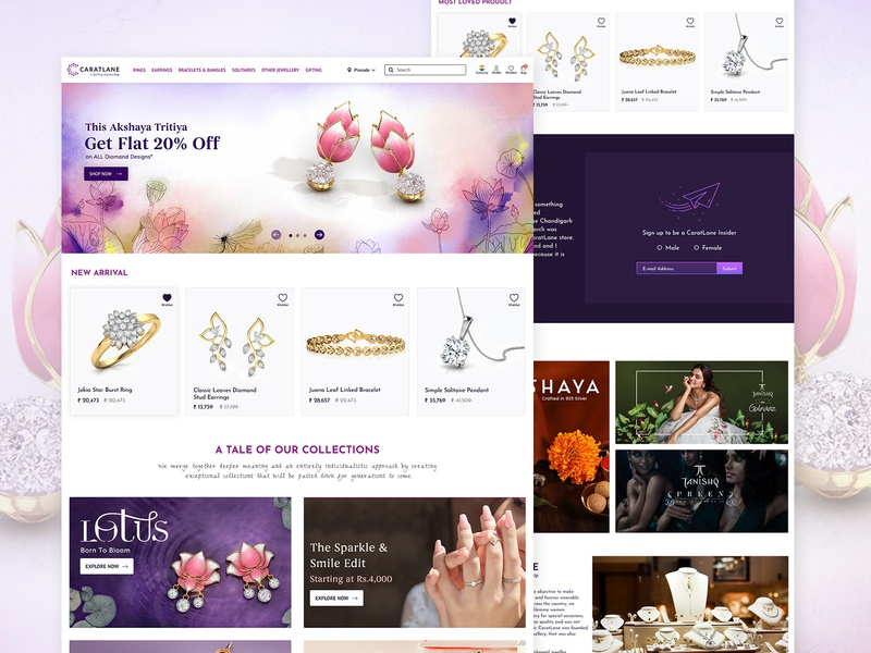 E-commerce website landing page landing page design landingpage daily 100 dailyui website materialdesign website design ecommerce design ecommerce