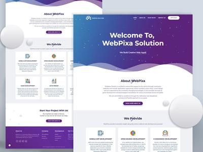 Landing Page dribble dailydesign materialdesign website landingpage homepage