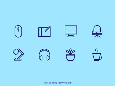 Essential Designer Equipment Free Icon Set icon set free tech technology design icons pixelperfect icon