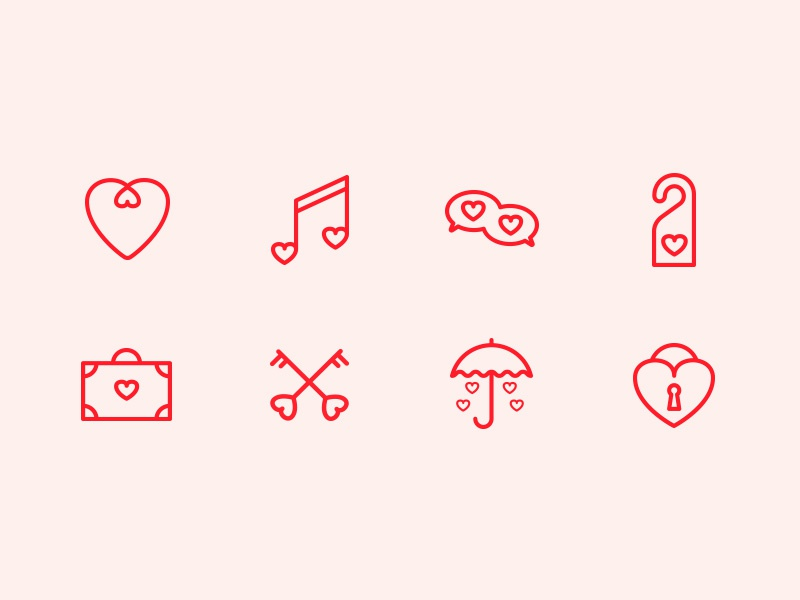 St. Valentine Day Free Icon Set icons pixelperfect share love free icon