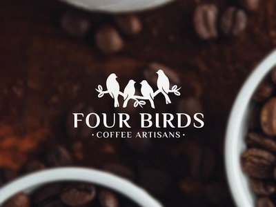 Logo for coffee roasting business