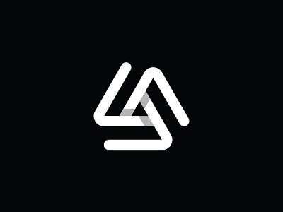Triangle B W branding app industrial vector ratio minimal icons design triangle crypto bitcoin icon technology tech geometric abstract logo shadow mark