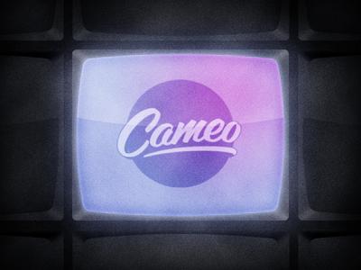 Cameo cameo video tv logo retro