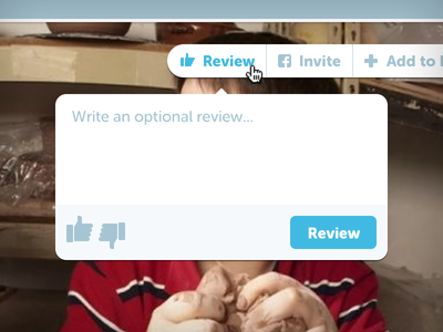 Review feelday responsive like thumbs up down