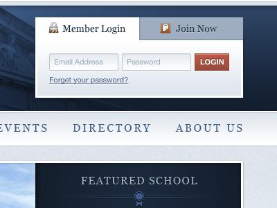 Member login 3
