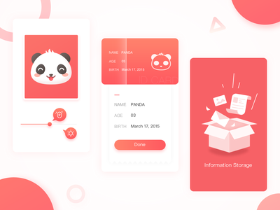 Cards of Landing Page