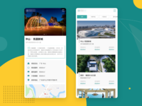 Detail Page for Real Estate on Mobile