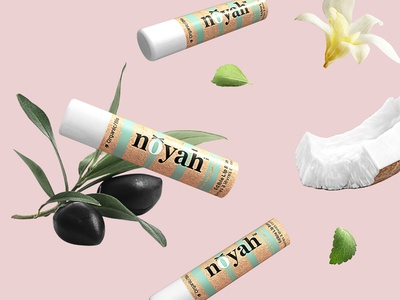 Edible Lip Balm packaging design