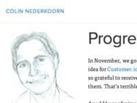 New Blog Typography
