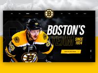 Boston Bruins Redesign