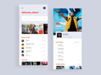 Scrobbler app ~concept~