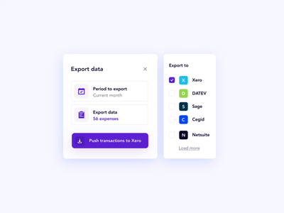 Spendesk Report Product Visual 4/4 ux ui product visual motion design features motion graphics animation spendesk design branding