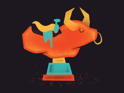 Electro Bull bull riding electronic bull western horns saddle cowboy party