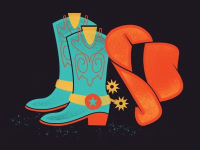 Western Wardrobe boots wetsern hat cowboy invitation party wrangler cowhand cowboy hat