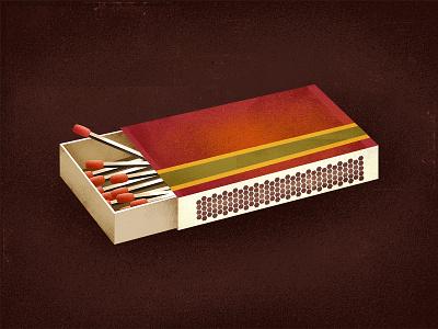 Vintage Matches texture matchstick fire madmen strike matches vintage