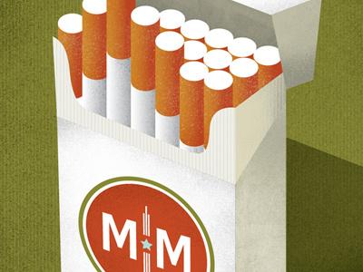 March Madmen-ness Cigarettes march madmen-ness mad men cigarettes vintage 60s lucky strike emblem tobacco