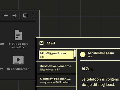 KLIF Desktop Interface Design icons neo dark digital students high school play theater iconography misinformation visual language user interface webdesign design ux interface ui