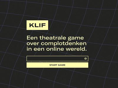 KLIF Landing Page Design game students high school theater desktop gt america yellow button dark neo warp user interface webdesign design ux interface ui