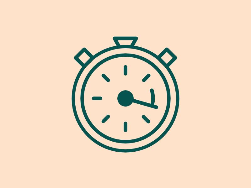 Bizz Ux — Sprint timer circle triangle square icon