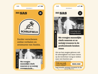 Category Page & Story Page – Met Sas
