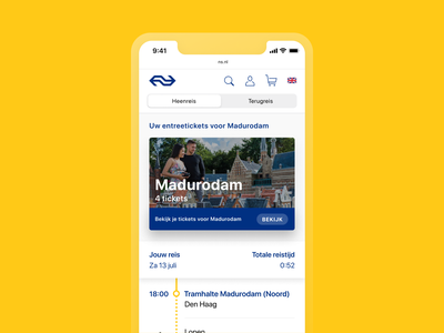 Redesigning the National Railway website – NS with Schaal+ destination planner map tickets planning route webdesign web ux user interface user experience ui minimal interface design