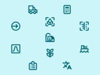 Design System Icons – NutriOpt for Nutreco