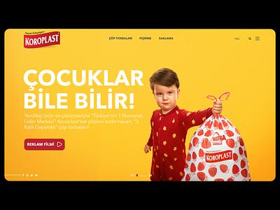 Koroplast Web Site website design website web design webdesign web ux user interface user experience site typography ui uidesign minimalism minimal flat design