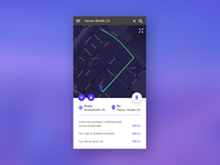 Daily UI # 020 –Location Tracker