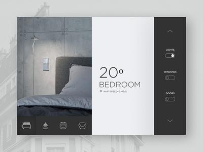 Daily UI # 021 –Home Monitoring Dashboard