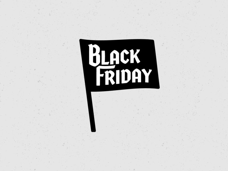 Nightmare before Christmas logo lettering flag typography typo icon blackletter black friday friday black blackfriday