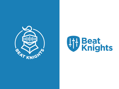 Beat Knights Logo Variations