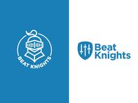 Beat Knights Logo Variations