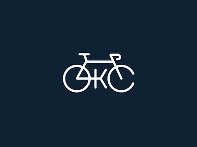 Bike Oklahoma City (OKC) illustration brand branding logo icon oklahoma city oklahoma bike bicycle