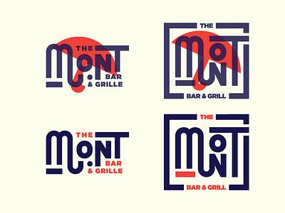 Left or Right? Help! vote logo oklahoma bar grill americana restaurant branding identity type typography lettering