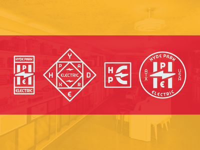 Hyde Park Electric Badges