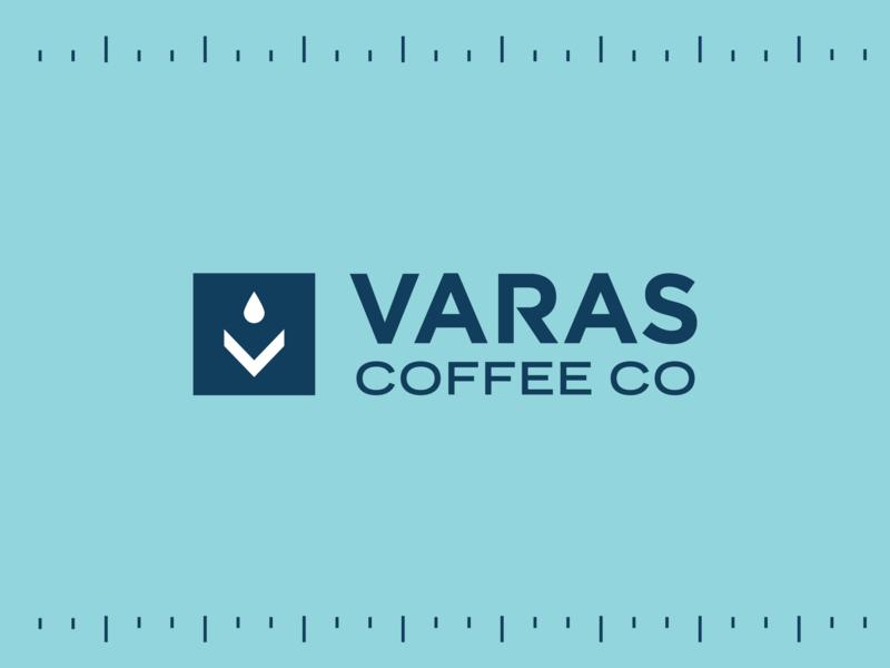 Varas Coffee - 01 americana logomark badge v texas logodesign identity branding identity logo coffee