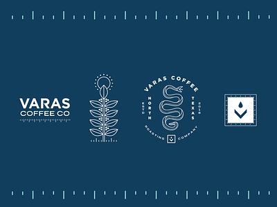 Varas Coffee - 02 design identity badge americana coffee texas logo branding illustration