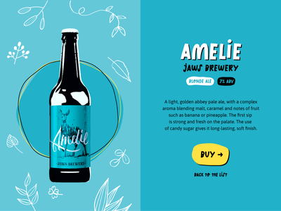 Choose Your Beer product design typogaphy landing web cartoon illustration cartooning cartoons beer website concept website design russia figmadesign figma webdesign website ui design ux design ux  ui ui ux
