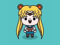 Sailor Moon kawaii animeart character sailor moon procreate app procreate manga anime