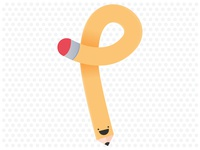 P for pencil