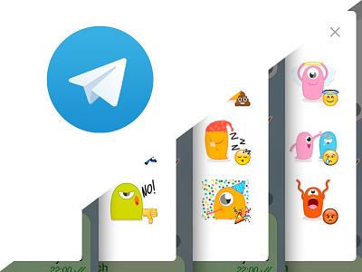 The Monztars Telegram Stickers monztars telegram stickers