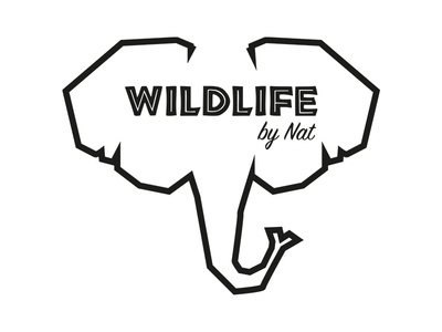 WILDLIFE by Nat black logo africa life wild