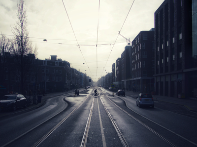 Amsterdam road. sony photo