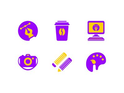Designer icon set 1