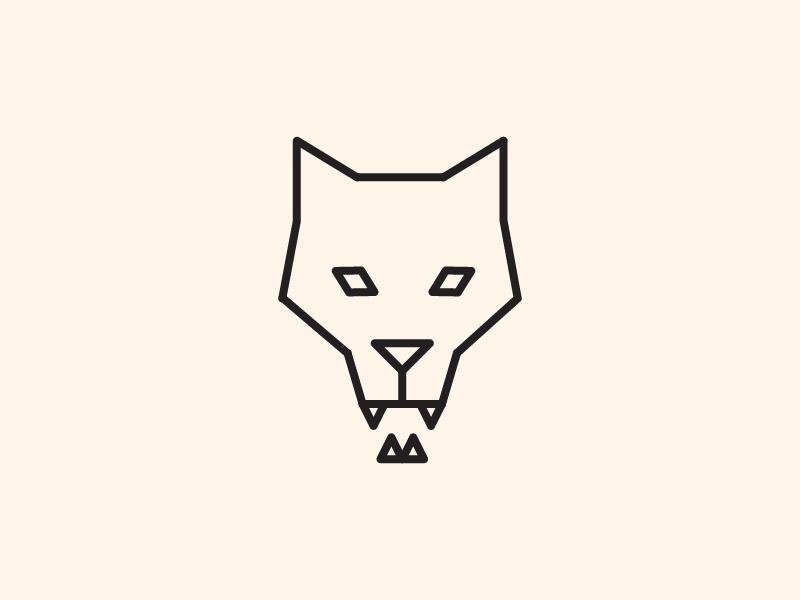 Wolf wolf logo wolf icon character logo branding vector design illustration art