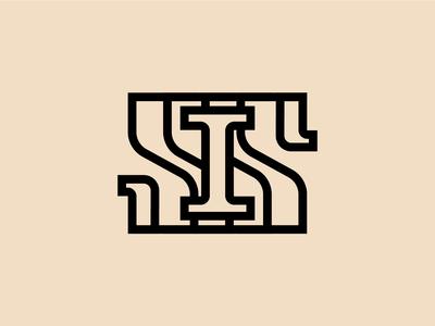 IS - monogram