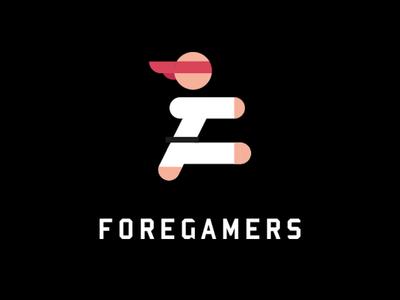 Gaming Logo mark design geek gaming logo